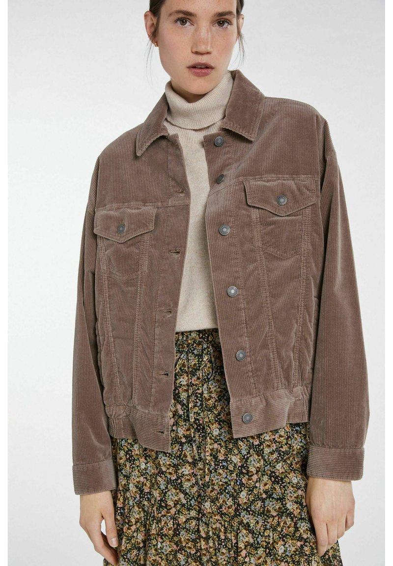 SET - Denim jacket - fossil