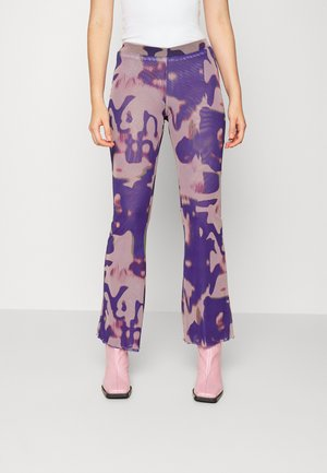 CECILE - Trousers - radiant letters