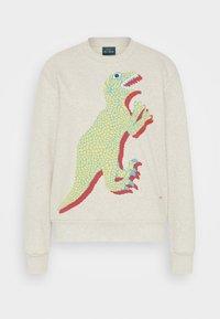 PS Paul Smith - LARGE DINO PRINT - Športni pulover - ivory - 6