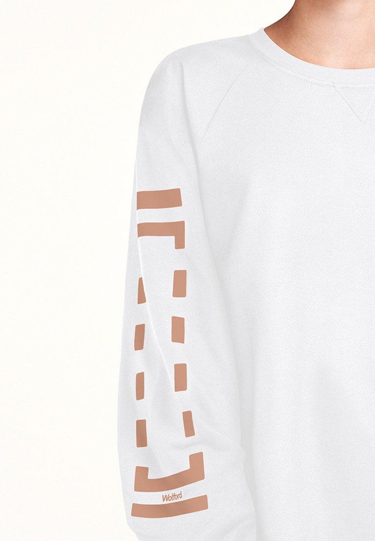 Wolford Sweatshirt - white/petal rose