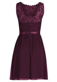 Vera Mont - Cocktail dress / Party dress - shiny bordeaux - 6