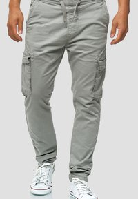 INDICODE JEANS - BROADWICK - Cargo trousers - gray - 0