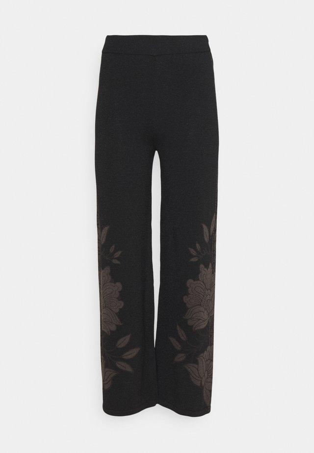 PANT VENUS - Kalhoty - black
