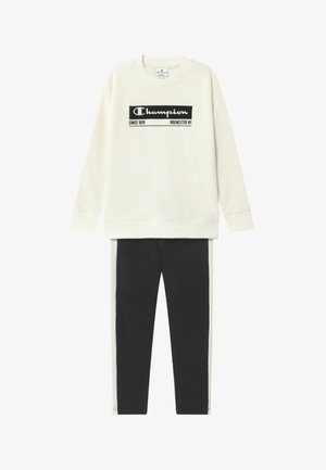 LEGACY CREWNECK SUIT SET - Chándal - off-white