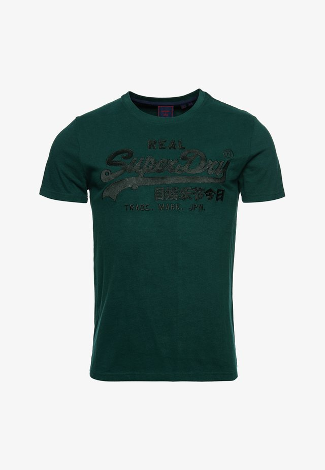 VINTAGE EMBROIDERY  - T-shirts print - pine
