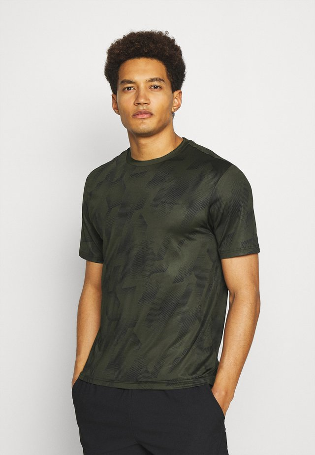 KENTS TEE - T-shirt print - military green