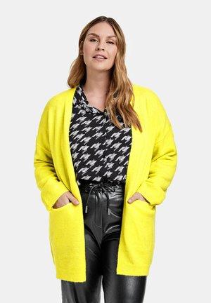 Cardigan - blazing yellow