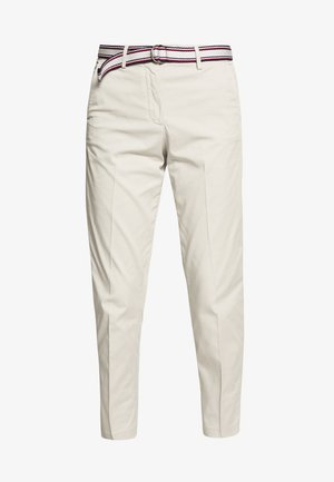 SLIM PANT - Trousers - light stone