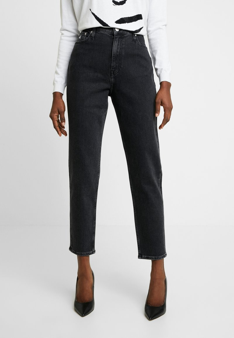 Calvin Klein Jeans - MOM - Relaxed fit jeans - black