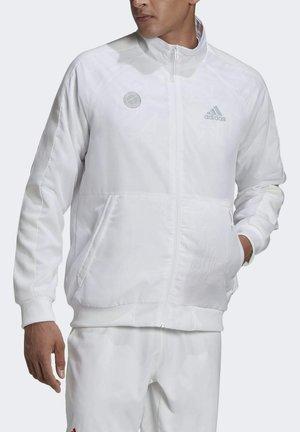 TENNIS UNIFORIA  - Felpa con zip - white