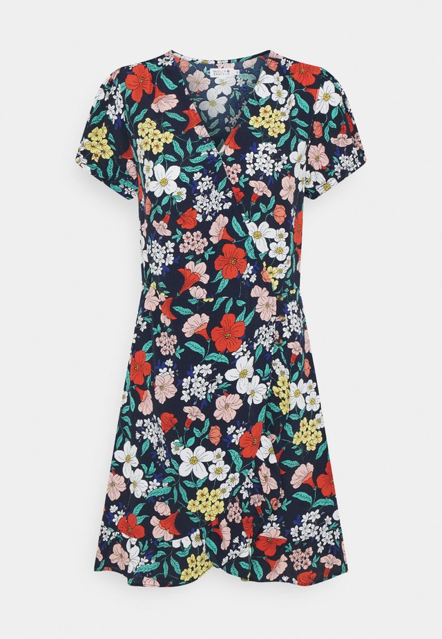 LADIES DRESS - Sukienka letnia - petunia midnight blue