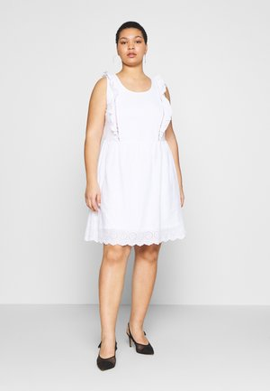 VAMELIA DRESS - Day dress - bright white