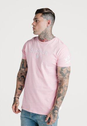 STEVE AOKI X  - Basic T-shirt - pink