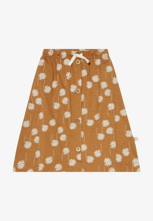 A-line skirt - bone brown