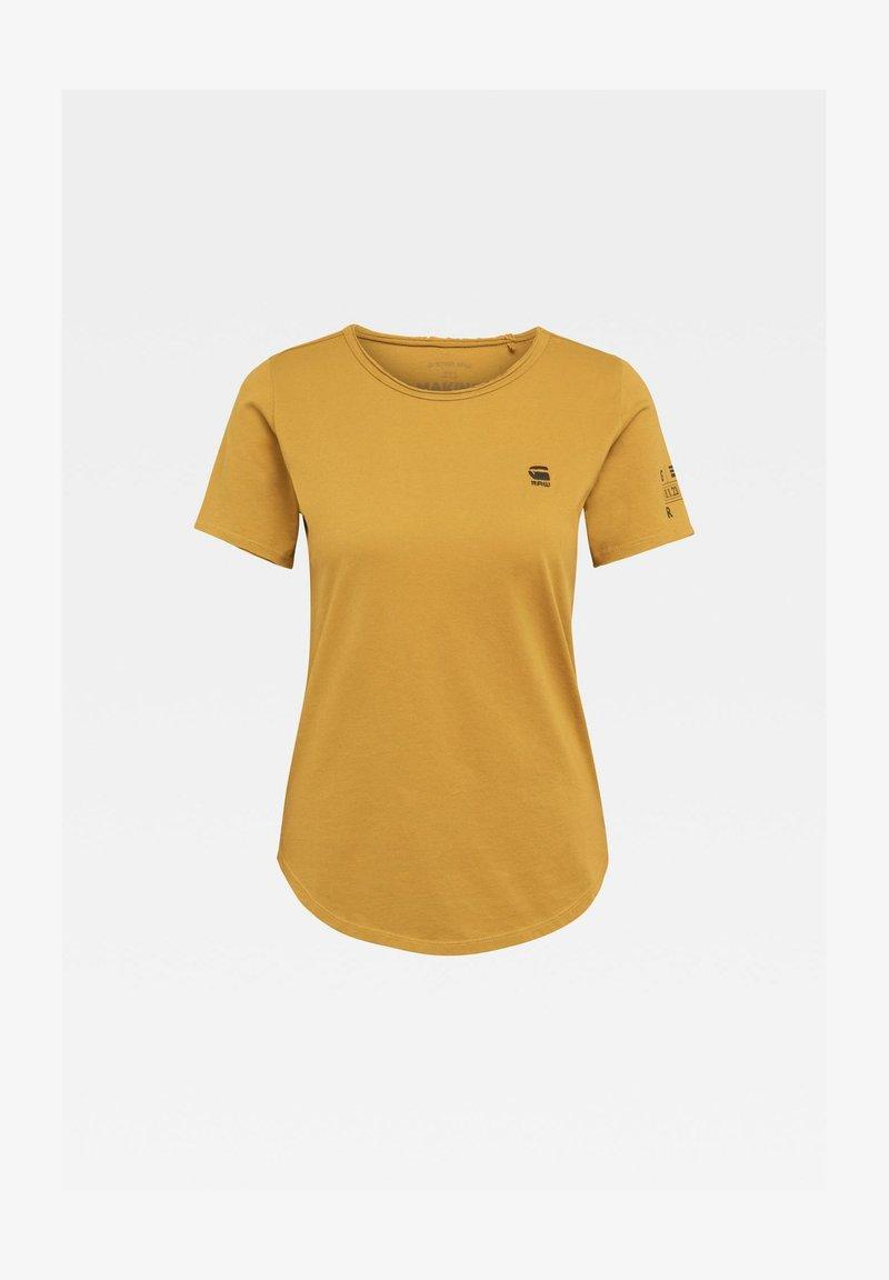 G-Star - MYSID OPTIC SLIM - Basic T-shirt - green sulphur