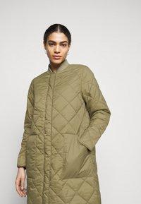 CLOSED - POSY  CLASSIC COAT - Classic coat - green umber - 3