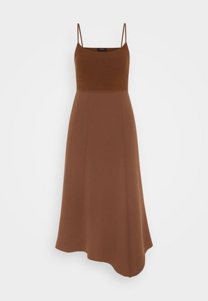DRESS - Day dress - cedar