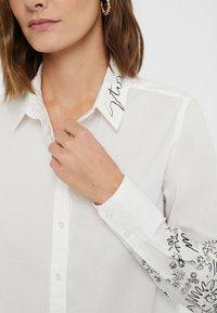 Desigual - CHIARA - Button-down blouse - white - 3
