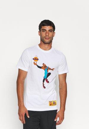 SPACE JAM TEE - Print T-shirt - white