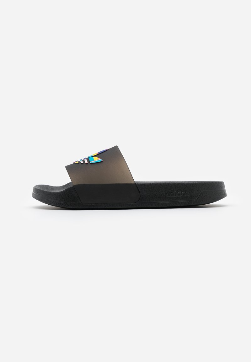 adidas Originals - ADILETTE LITE PRIDE - Pool slides - core black