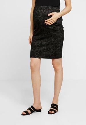 SKIRT TIRZA - Falda de tubo - black