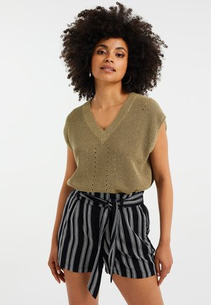 Top - olive green