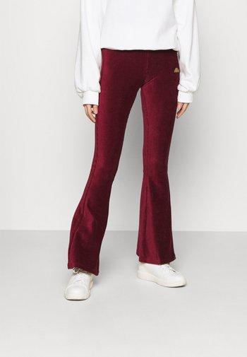 FLORIE - Pantalon classique - burgundy