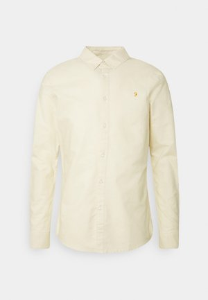 BREWER SLIM - Shirt - yellow