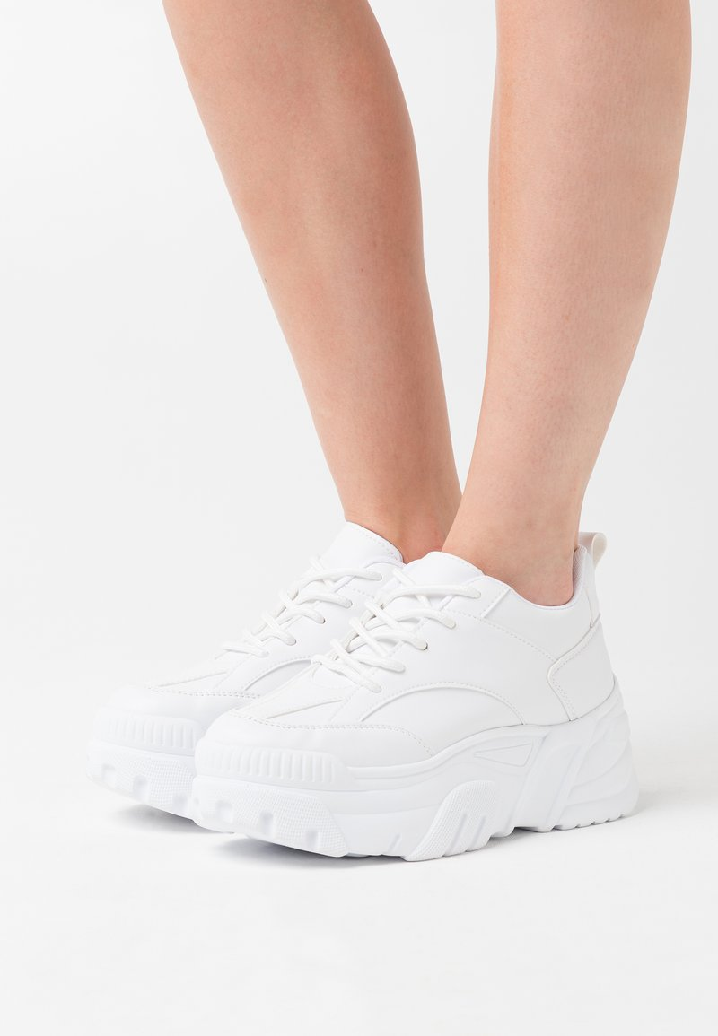 Nly by Nelly - EXTREME TECHNIQUE - Trainers - white
