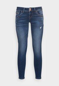 SENTA - Jeans Skinny Fit - dark blue denim