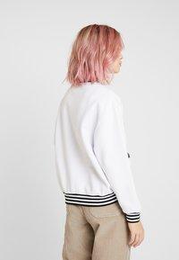 Kickers Classics - PANEL - Sweater - white - 2