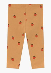 TINYCOTTONS - STRAWBERRIES PANT - Legíny - toffee/red - 1