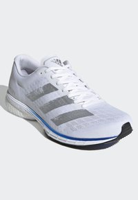 adidas Performance - ADIZERO ADIOS 5 SHOES - Neutral running shoes - white - 5