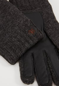 Marc O'Polo - GLOVES WITH TOUCH SCREEN FINGER - Gloves - dark grey melange - 3