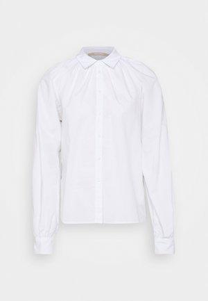 2ND ALVA THINK TWICE - Button-down blouse - bright white