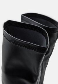 RAID Wide Fit - JOYEN - Kozačky na vysokém podpatku - black - 5