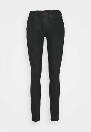 LYNN MID SKINNY WMN - Jeans Skinny Fit - black radiant cobler