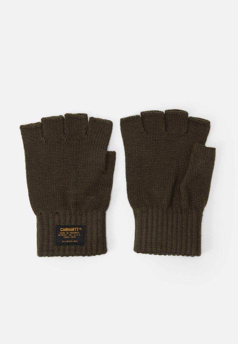 Carhartt WIP - MILITARY MITTEN UNISEX - Fingerless gloves - cypress