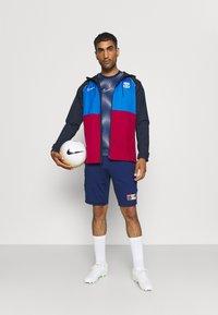 Nike Performance - FC BARCELONA  - Club wear - soar/noble red/obsidian/pale ivory - 1