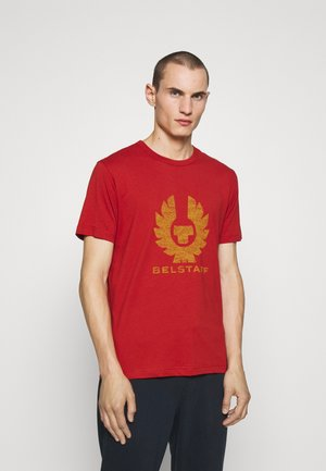 COTELAND - T-shirts med print - red ochre/harvest gold