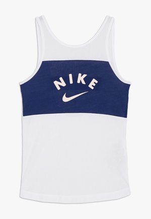 TANK - Top - white/blue void/washed coral
