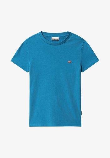 SALIS - Basic T-shirt - mykonos blue