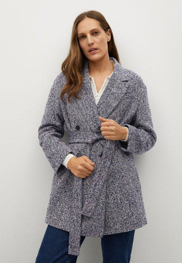 LAPIZ - Classic coat - marineblau