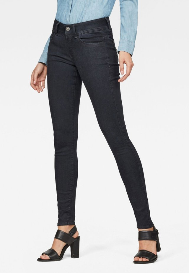 LYNN D-MID SUPER SKINNY - Jeans Skinny Fit - blue denim