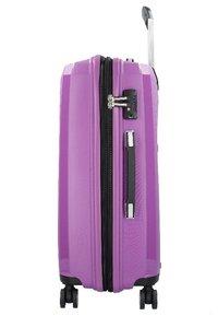 Hardware - Wheeled suitcase - purple - 2