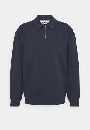 STEFAN HALFZIP UNISEX - Sweater - navy