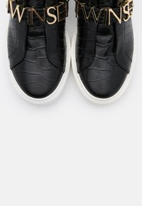 TWINSET - LOGO LETTERING - Slip-ons - nero - 6