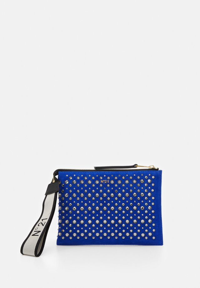 ZIPPED POUCH - Pochette - blue