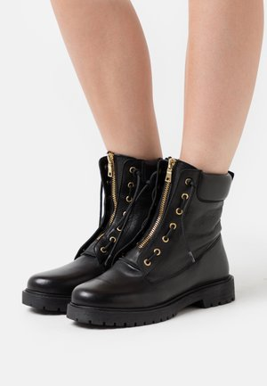 VILMA - Lace-up ankle boots - black