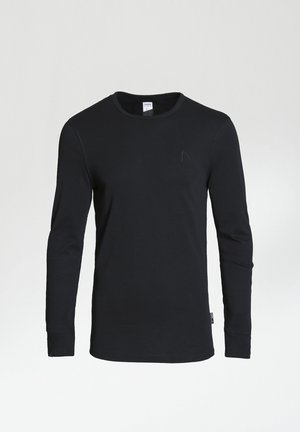 DAMIAN-B - Long sleeved top - black